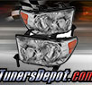 TD® Crystal Headlights (Chrome) - 07-13 Toyota Tundra (w/o Washer)