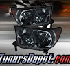 TD® Crystal Headlights (Smoke) - 08-13 Toyota Sequoia (w/o Washer)