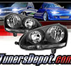 TD® Crystal Headlights (Black) - 06-09 VW Volkswagen Golf (Incl. GTI)
