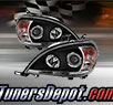 TD® Halo Projector Headlights (Black) - 98-02 Mercedes Benz ML320 W163
