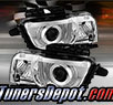 TD® CCFL Halo Projector Headlights (Chrome) - 10-13 Chevy Camaro
