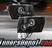 TD® DRL LED Halo Projector Headlights (Black) - 09-14 Ford F-150 F150