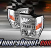 TD® LED Halo Projector Headlights (Chrome) - 08-10 Ford F-350 F350 Super Duty