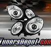 TD® Projector Headlights (Chrome) - 03-06 Mercedes Benz E55 4dr W211