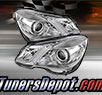 TD® Projector Headlights (Chrome) - 10-13 Mercedes Benz E550 4dr W212
