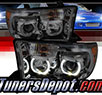 TD® LED Halo Projector Headlights (Smoke) - 07-13 Toyota Tundra