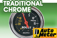 Auto Meter® - Auto Meter - Traditional Chrome