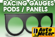 Auto Meter® - Racing Gauges Pods | Panels