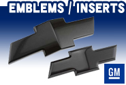 Official GM Licensed® - Emblems | Inserts