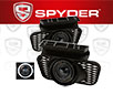 Spyder® Halo Projector Fog Lights (Smoke) - 02-06 Chevy Avalanche (w/o Body Cladding)