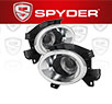 Spyder® Halo Projector Fog Lights (Clear) - 13-14 Nissan Pathfinder