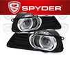 Spyder® Halo Projector Fog Lights (Clear) -  07-09 Toyota Camry