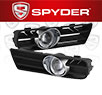 Spyder® Halo Projector Fog Lights (Clear) -  99-04 VW Volkswagen Golf GTI/TDI