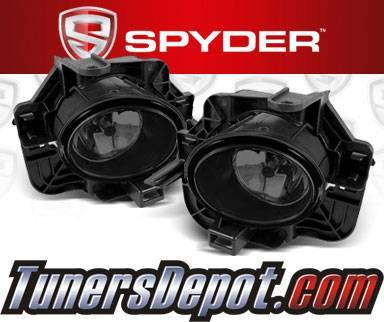 Spyder® OEM Fog Lights (Smoke) - 07-09 Nissan Altima 4dr. (Factory Style)