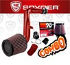 K&N® Air Filter + Spyder® Cold Air Intake System (Red) - 02-06 Nissan Altima 3.5L V6