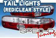 SPEC-D® - Tail Lights (Red|Clear Style)