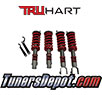 TruHart Drag Coilovers - 90-93 Acura Integra