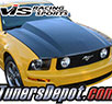 VIS Cowl Induction Style Carbon Fiber Hood - 05-09 Ford Mustang