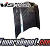 VIS Cowl Induction Style Carbon Fiber Hood - 93-97 Chevrolet Camaro