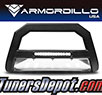 Armordillo® AR LED Series Bull Bar (Matte Black with Aluminum Skid Plate) - 15-19 Chevy Colorado
