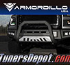 Armordillo® AR Series Bull Bar (Matte Black with Aluminum Skid Plate) - 00-06 Chevy Suburban 2500