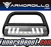 Armordillo® CLASSIC Series Bull Bar (Matte Black with Aluminum Skid Plate) - 02-06 Chevy Avalanche 1500
