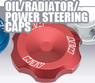 Oil-Radiator-Power Steering Caps