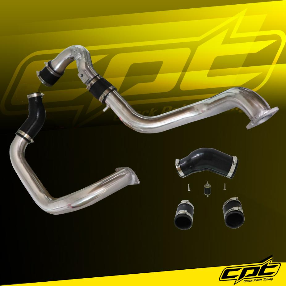 Black 16-18 Honda Civic 1.5L Turbo 4cyl Intercooler Piping Kit