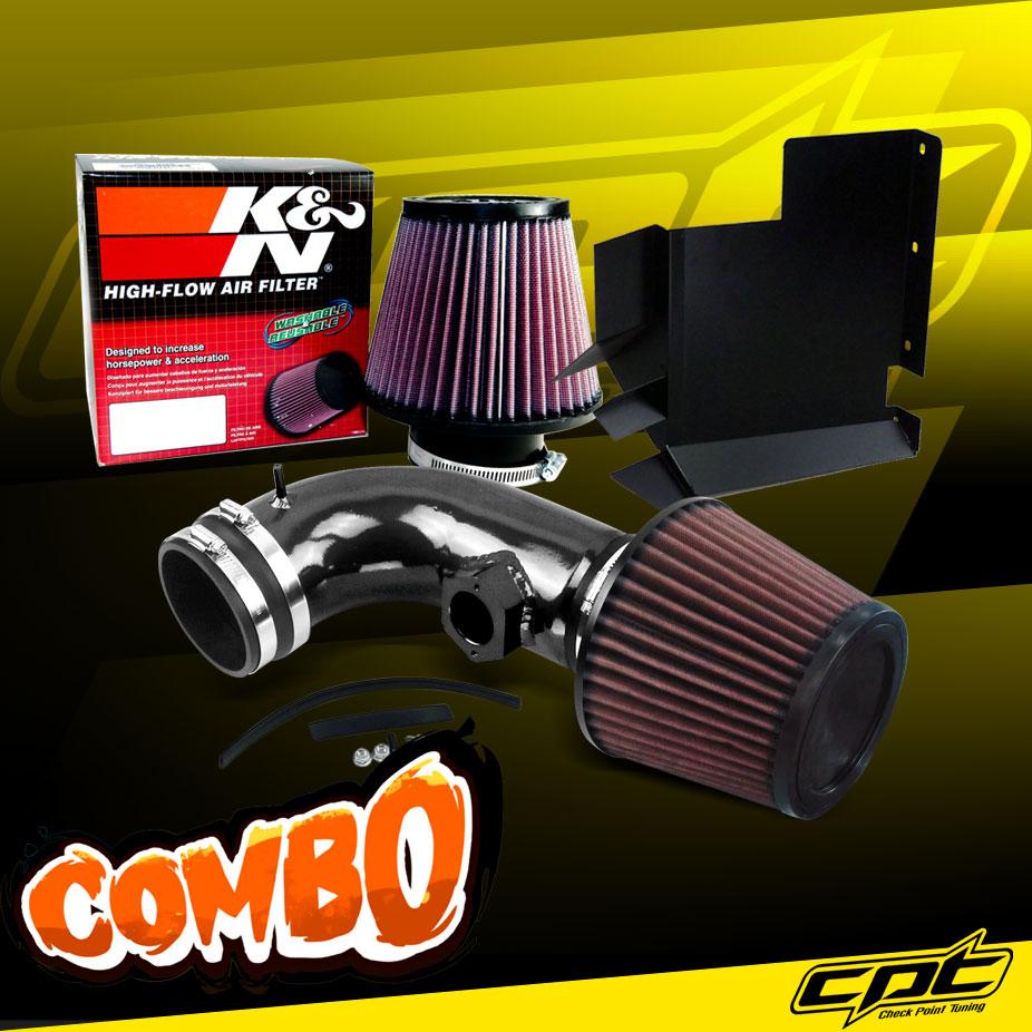 For 08-13 BMW 128i E82//E88 3.0L 6cyl Blue Cold Air Intake K/&N Air Filter