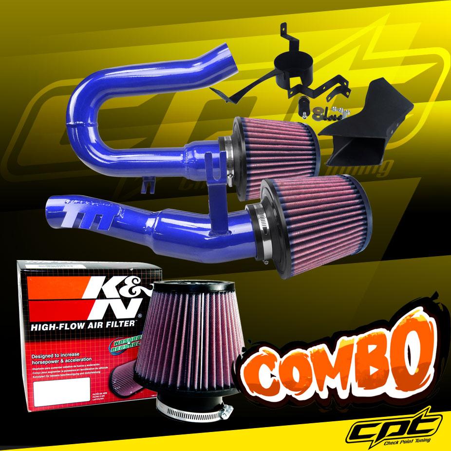 K/&N Air Filter 07-10 BMW 335i 3.0L L6 E90//E92//E93 Blue Cold Air Intake