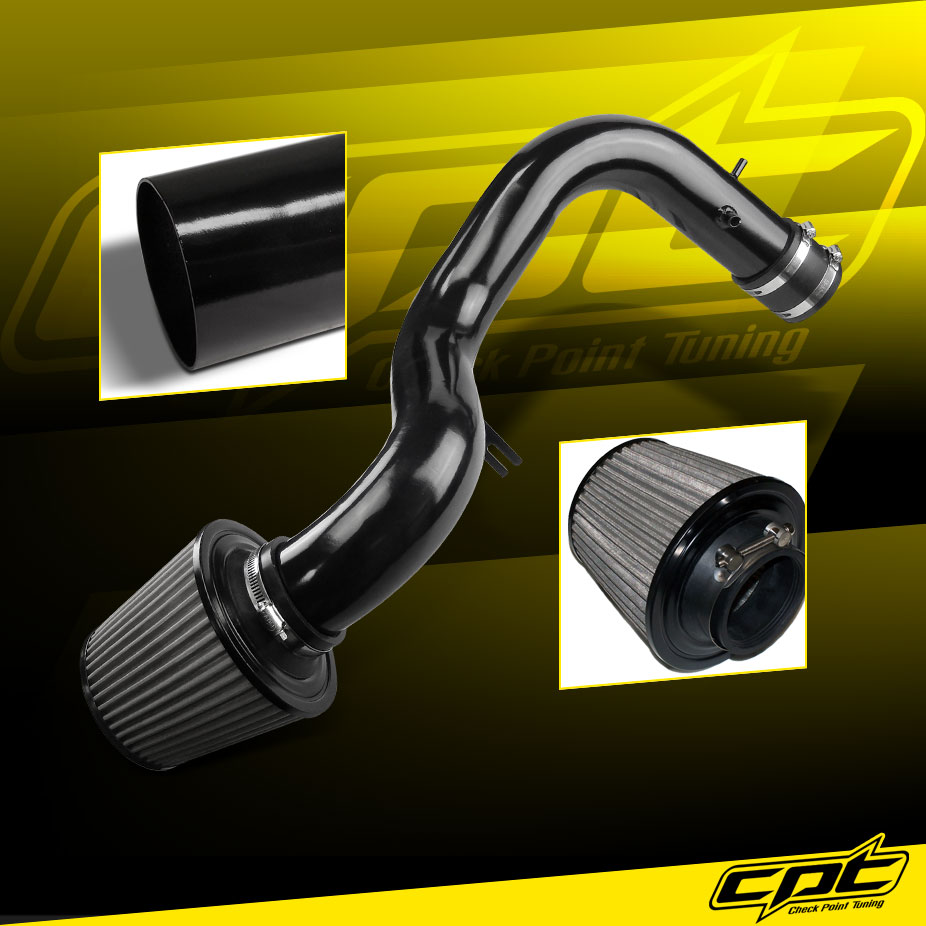 For 01-03 Acura CL/TL Type-S 3.2L V6 Black Cold Air Intake