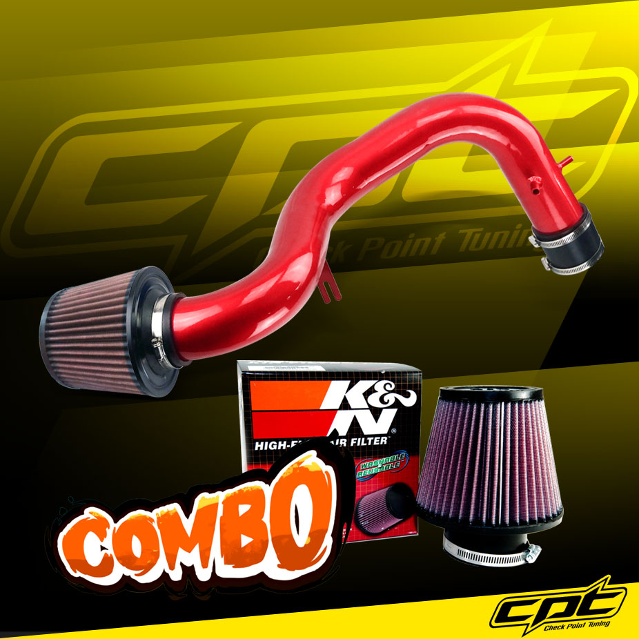 For 01-03 Acura CL/TL Type-S 3.2L V6 Red Cold Air Intake