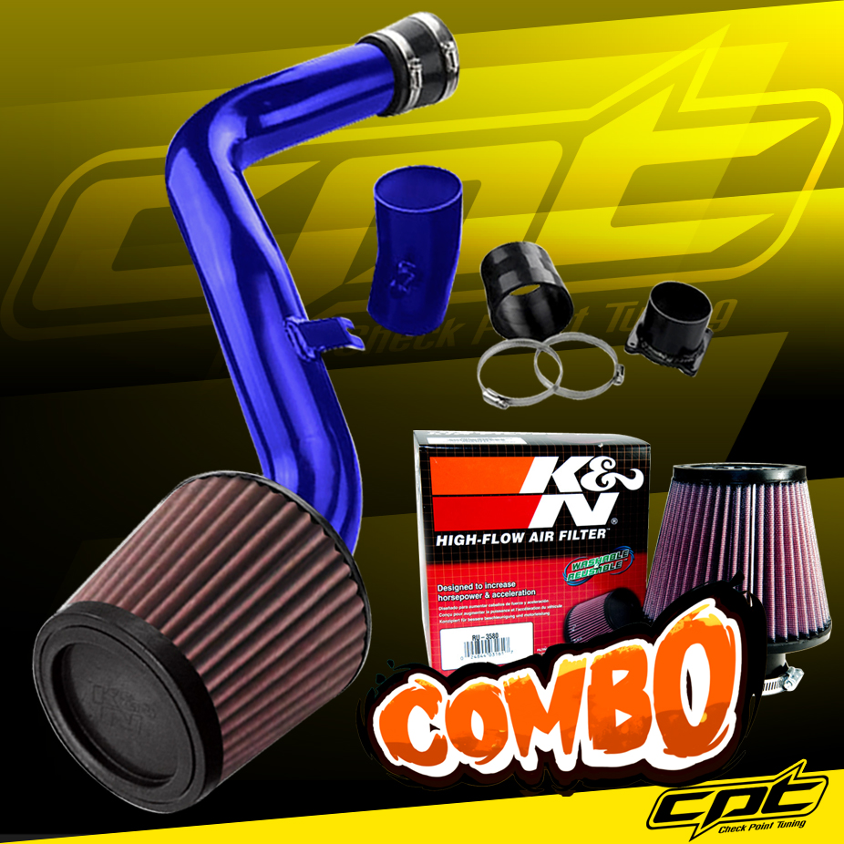ALUMINUM COLD AIR INTAKE PIPE+RED COTTON FILTER FOR 02-06 ALTIMA//MAXIMA 3.5 V6