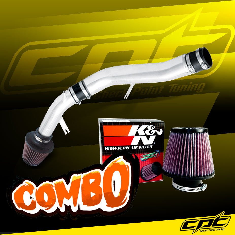 Stainless Steel Air Filter 03-07 G35 3.5L V6 Manual Polish Cold Air Intake