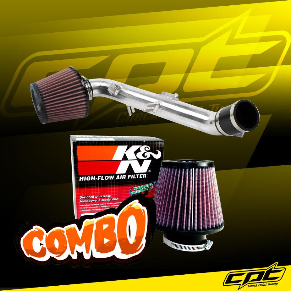 Red Cone Filter For 2006-2011 Toyota Yaris 1.5L Hi-Flow Cold Air Intake Kit