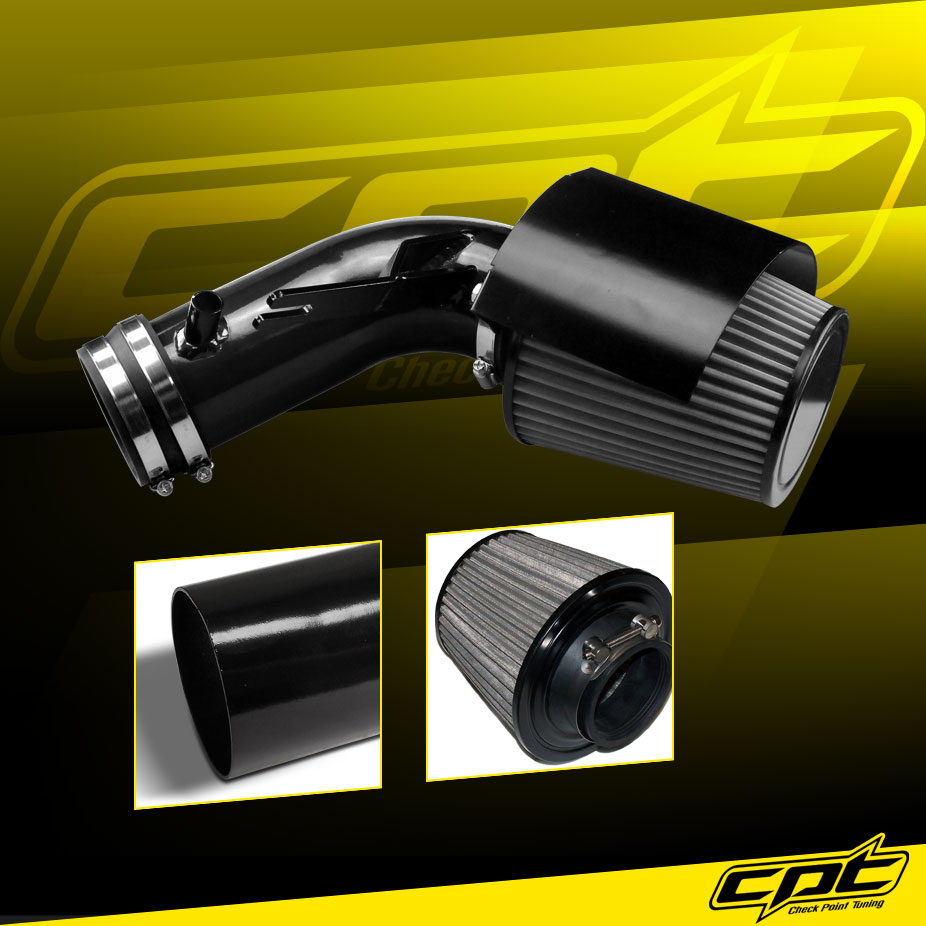 Polish Cold Air Intake Stainless Steel Air Filter For 02-06 Altima 3.5L V6