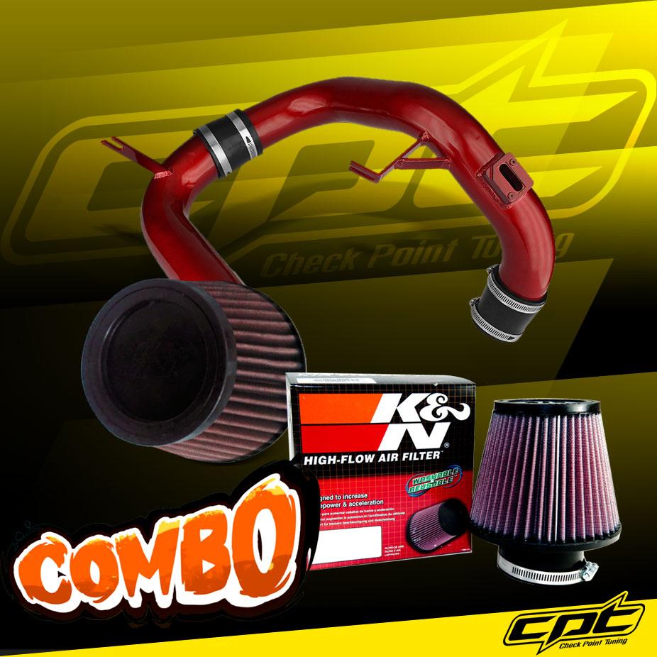 12-15 Honda Civic 1.8L 4cyl Polish Cold Air Intake K/&N Air Filter