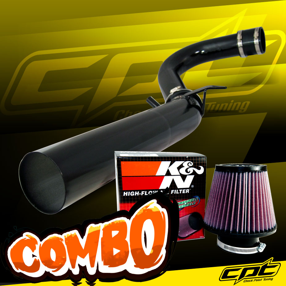 """3.5/"""" RED Heat Shield Cold Air Intake For 11-16 Challenger//Charger//300 3.6L V6"""