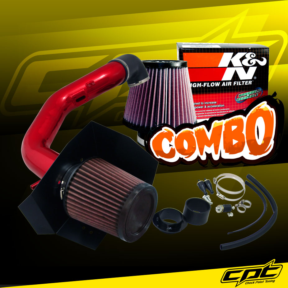 2005 Ford Expedition 5.4L V8 Black Cold Air Intake Stainless Steel Air Filter