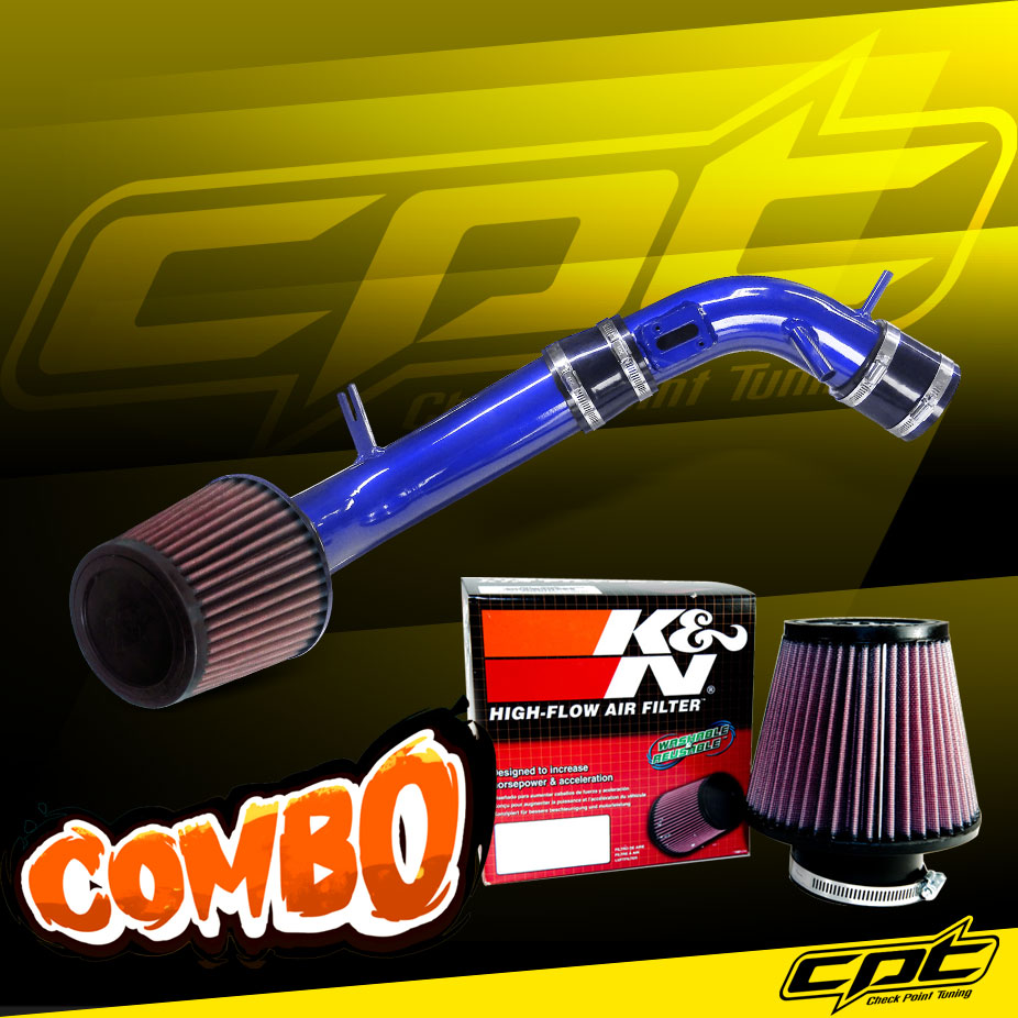 Stainless Steel Air Filter 10-12 Ford Fusion 2.5L 4cyl Blue Cold Air Intake