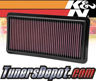 K&N® Drop in Air Filter Replacement - 10-12 Suzuki SX-4 SX4 2.0L 4cyl