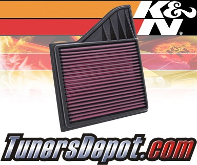 K&N® Drop in Air Filter Replacement - 11-13 Ford Mustang 3.7L V6