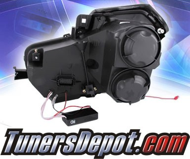 Ks Led Halo Projector Headlights Black 11 13 Chevy Cruze Gen 2 Pictures to pin on Pinterest