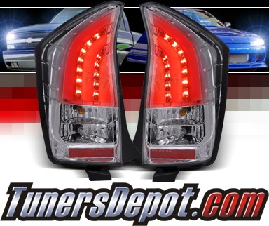 SPEC-D® LED Tail Lights (Chrome) - 10-11 Toyota Prius 3dr