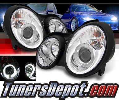 Sonar® Halo Projector Headlights - 98-02 Mercedes-Benz CLK 430 W208