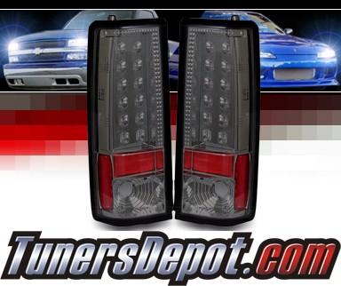 Sonar 174 Led Tail Lights Smoke 85 05 Chevy Astro Van Alt
