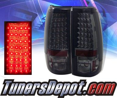 Sonar® LED Tail Lights (Smoke) - 99-06 GMC Sierra