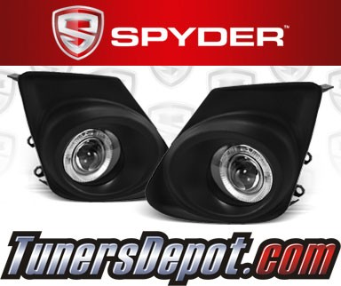 Spyder® Halo Projector Fog Lights (Clear) - 11-12 Toyota Corolla