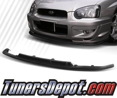 Td front bumper lip 04 05 subaru impreza wrx sti style for Html td style
