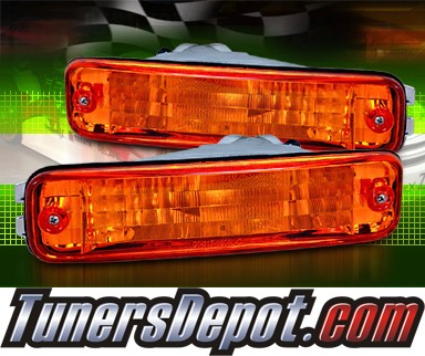 Continental Acura on Front Bumper Signal Lights Amber 90 91 Acura Integra Cbl Dp Ai90 Am